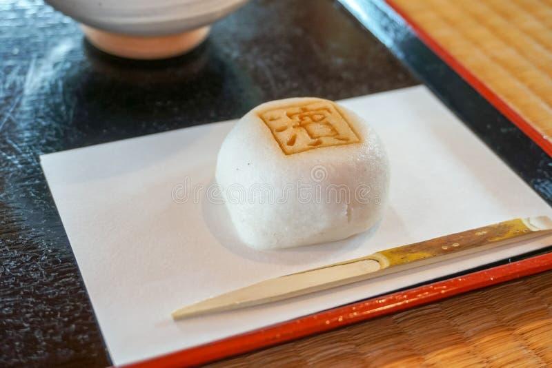 Japansk bönagodis i ett tehus royaltyfri bild