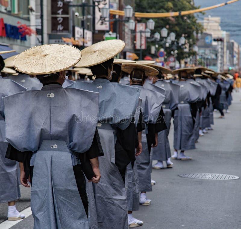 Japansk festival royaltyfria bilder