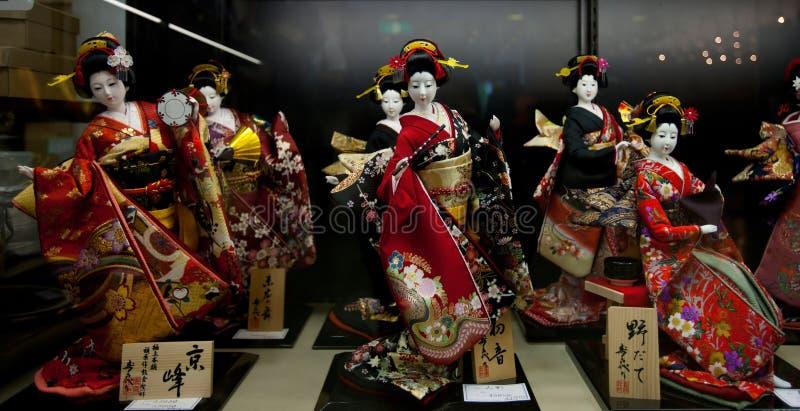 japansk kimono arkivbild