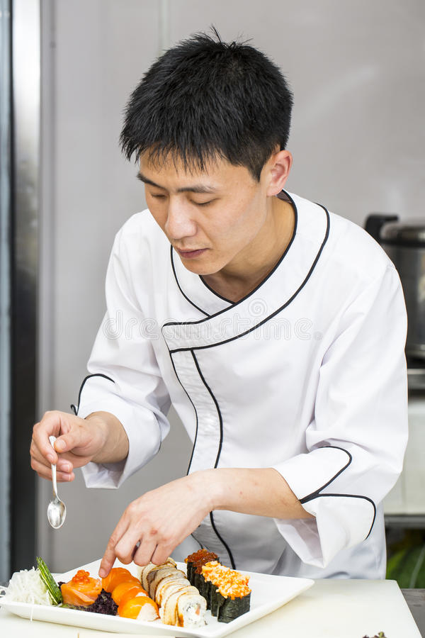 Japansk kock arkivbild