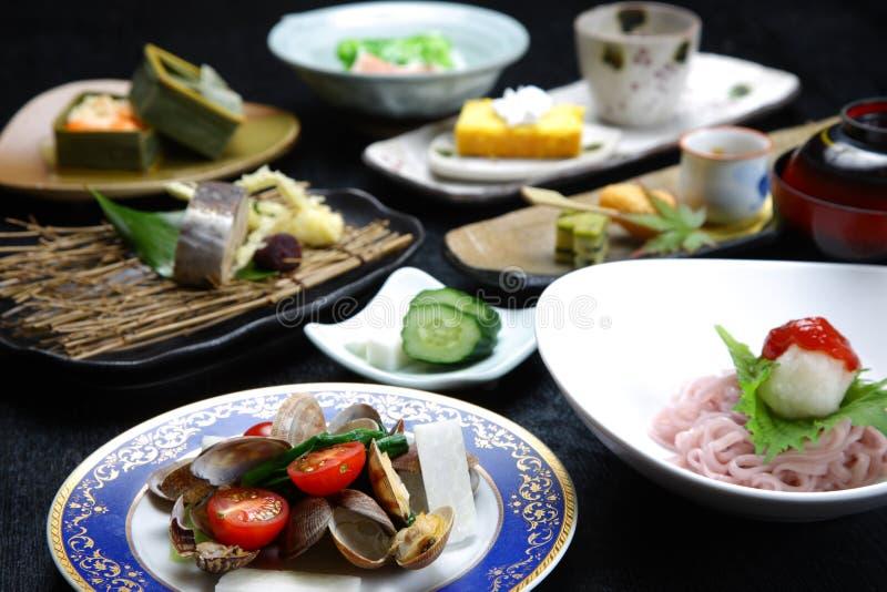Japansk kokkonst arkivbilder