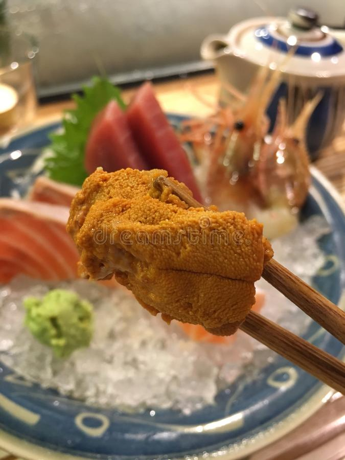 Japansk kokkonst arkivfoton