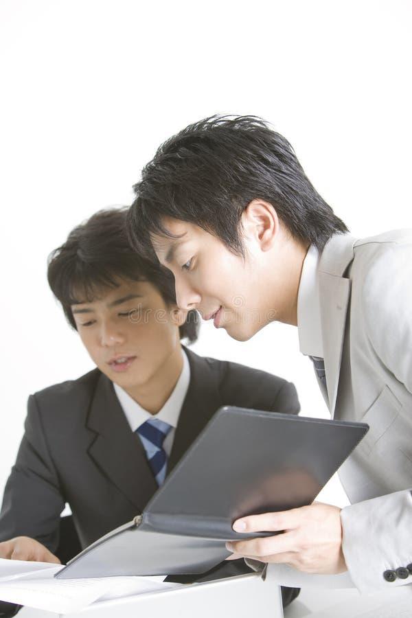 japansk kontorsarbetare arkivfoto