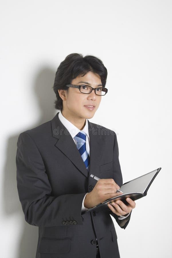 japansk kontorsarbetare royaltyfri foto