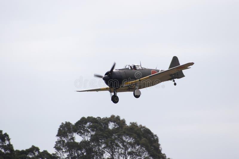 japansk landning nolla royaltyfria foton