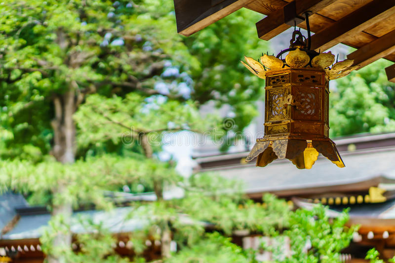 japansk lykta arkivfoto