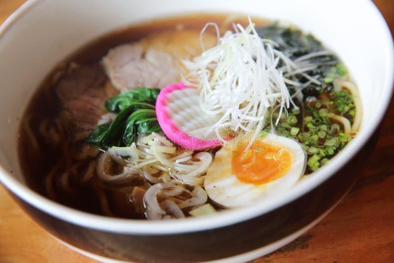 Japansk mat för Ramennudel royaltyfria foton