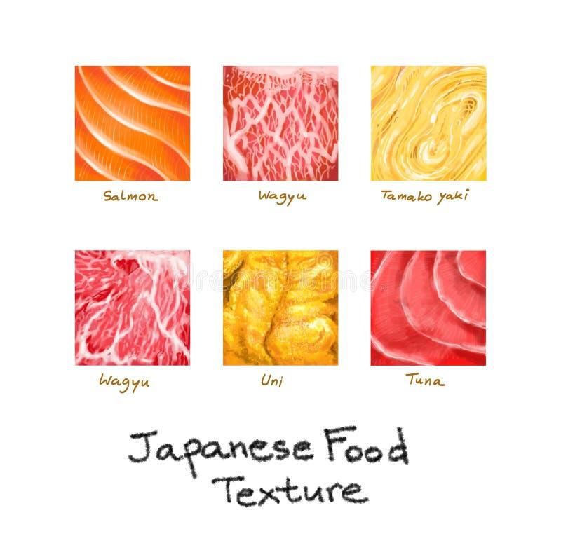 Japansk mattexturillustration arkivfoton