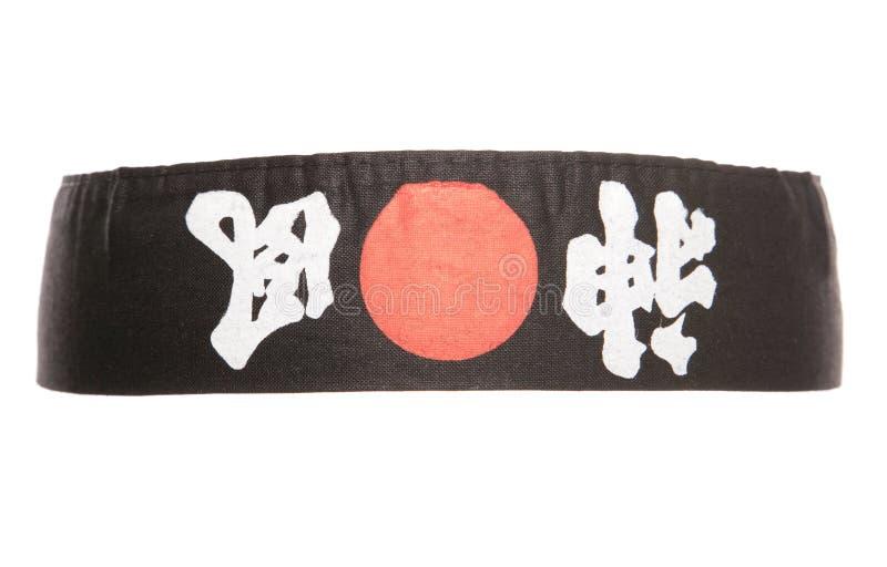 Japansk ninjahuvudbindel arkivbilder