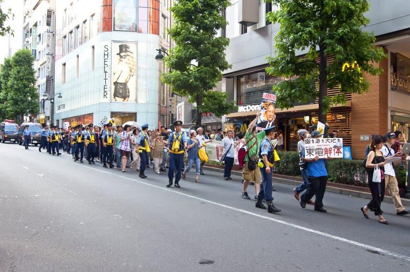 japansk polis tokyo royaltyfri foto