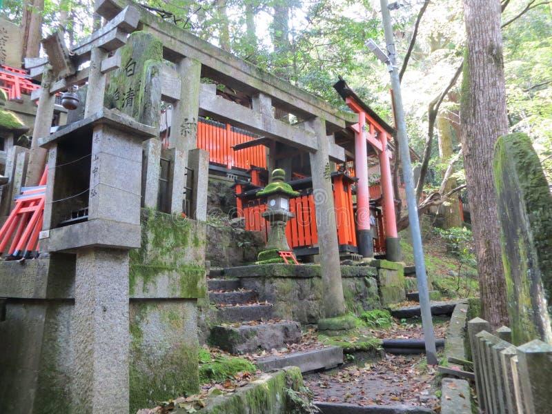Japansk Shintorelikskrin fotografering för bildbyråer