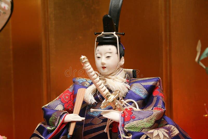 japanska dockor royaltyfria foton