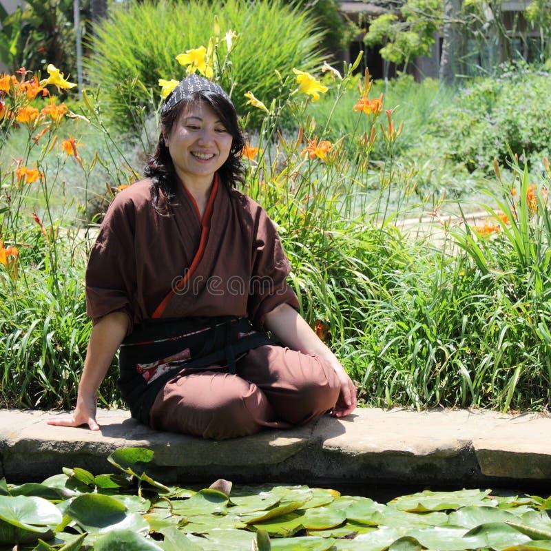 japanska kvinnor royaltyfri bild