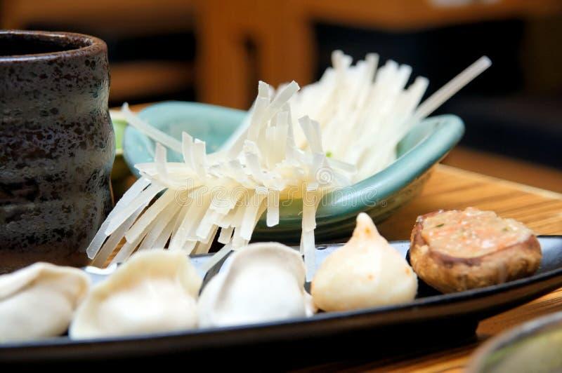 japanska ricesticks för klimpar royaltyfri bild