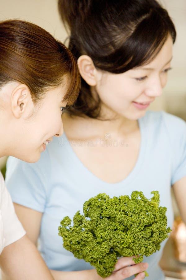 japanska ståendekvinnor royaltyfri foto