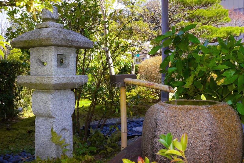 Japanska stenlyktor arkivfoton