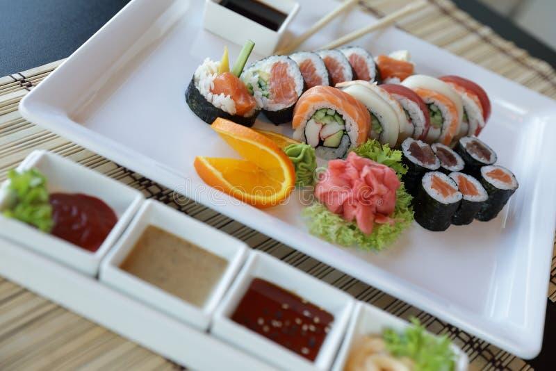 japanska sushi fotografering för bildbyråer