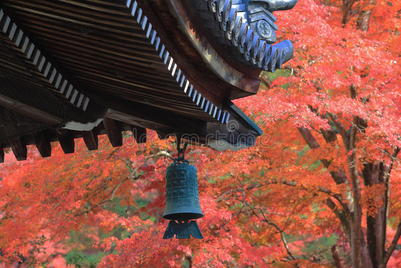 Japanskt tak för tempel s av Nanzen-ji royaltyfri bild