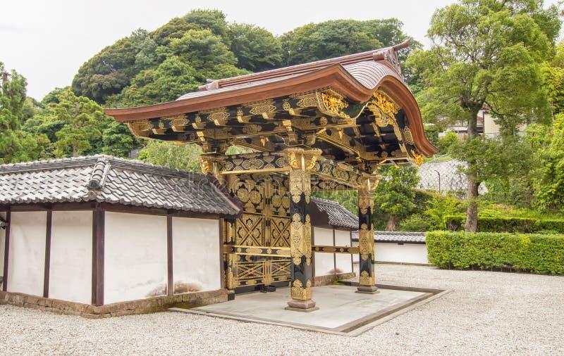 japanskt tempel royaltyfria foton