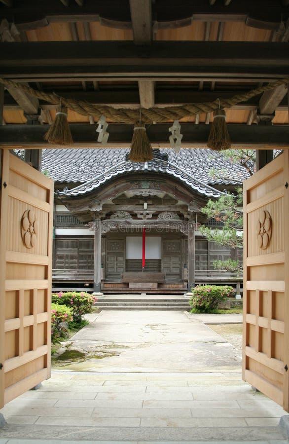 japanskt tempel fotografering för bildbyråer