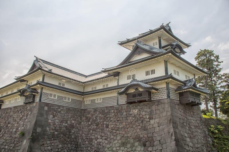Japanskt tempel royaltyfri fotografi