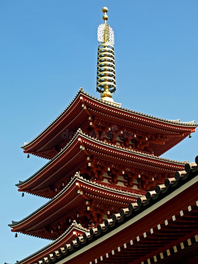 japanskt tempel arkivbilder