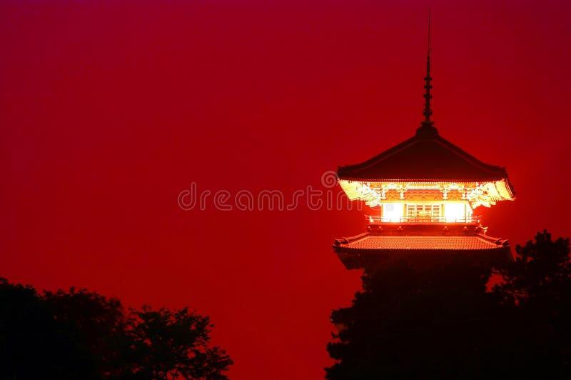 japanskt torn royaltyfria bilder