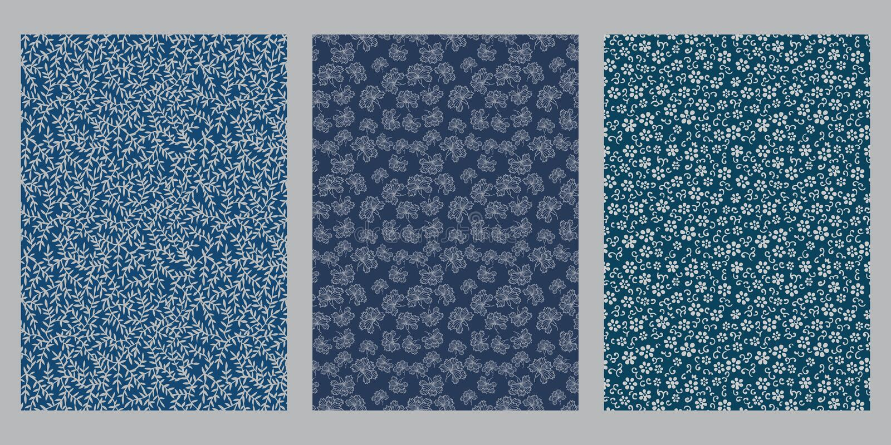 Japanskt vinblad, petal, blommor, abstrakt bakgrund vektor illustrationer