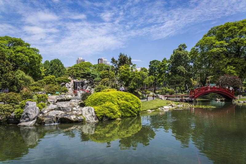 Japończyka ogród, Buenos Aires, Argentyna fotografia royalty free