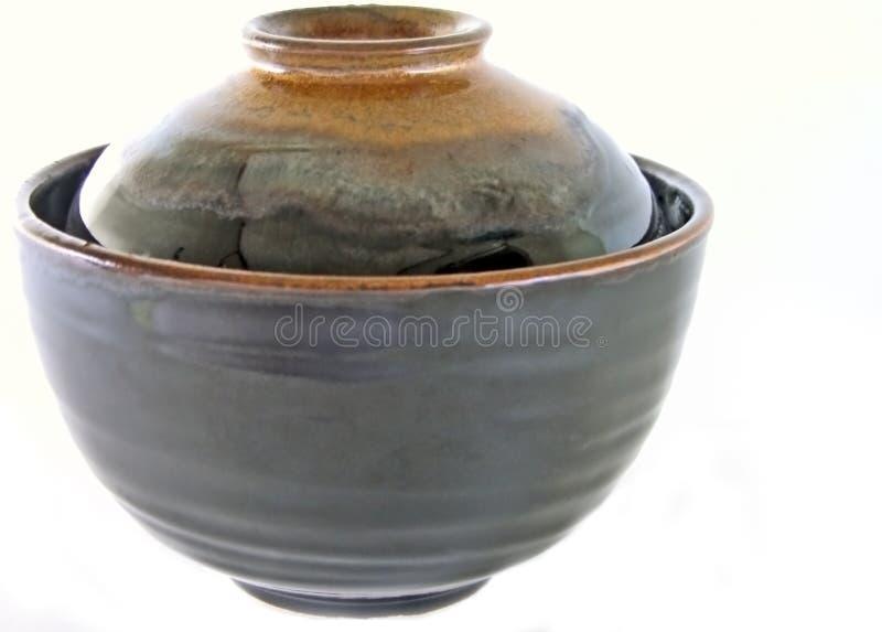 japończycy miski ceramiczne fotografia stock