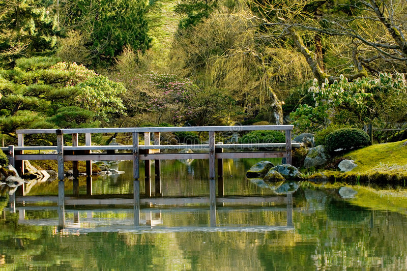 japończycy mostu zdjęcie royalty free