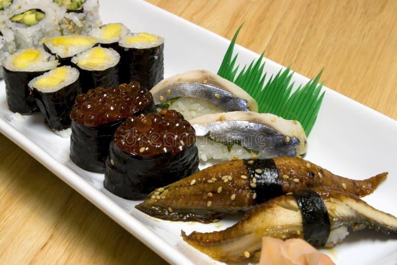 japończycy obiad ryby zdjęcia stock