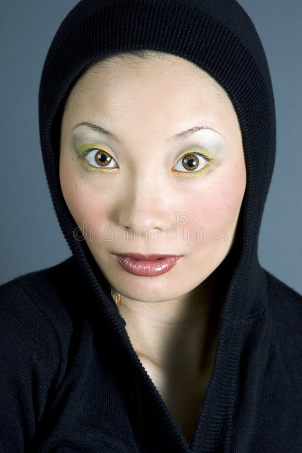 japończycy wam kobieta zdjęcie royalty free