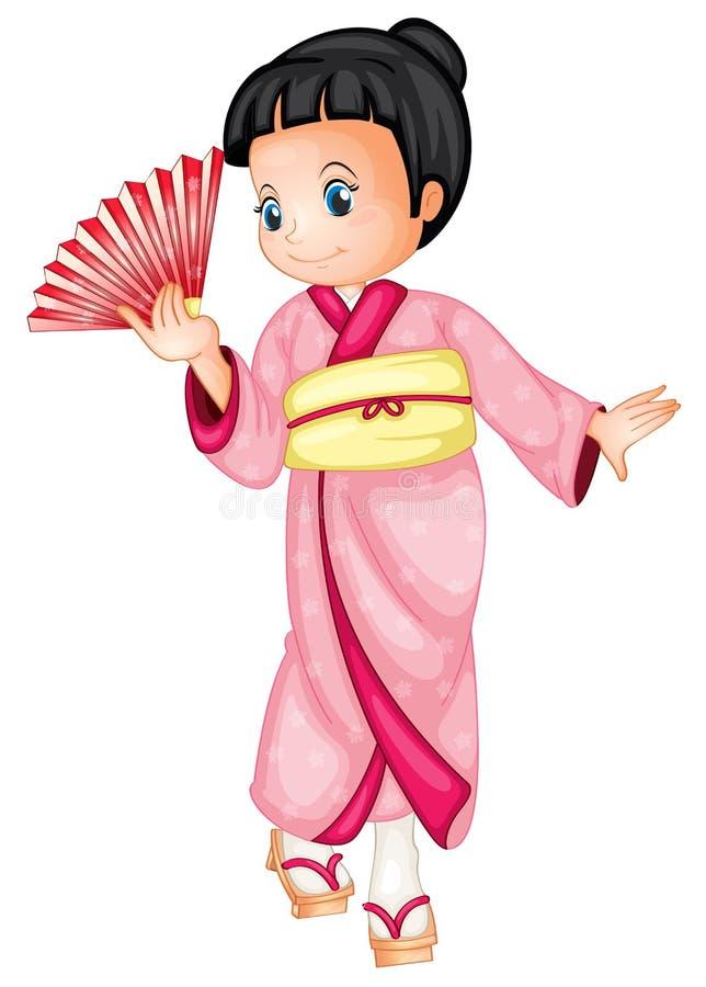 Japończyk ilustracja wektor