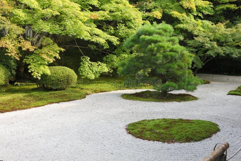 japończyk ogrodowa skała obraz stock