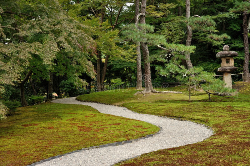 Japończyk ogrodowy Yoshikien 1 fotografia stock