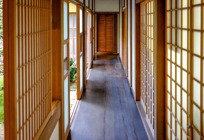 Japończyka domowy korytarz obrazy stock