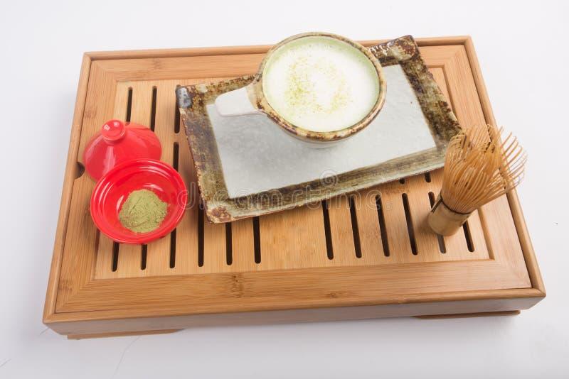 Japończyka Matcha herbata obraz royalty free