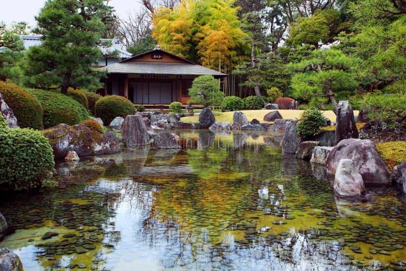 Japończyka ogród zdjęcie royalty free