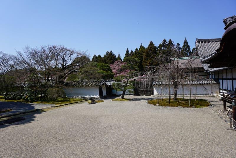 Japończyka ogród w Daigoji świątyni, Kyoto fotografia stock