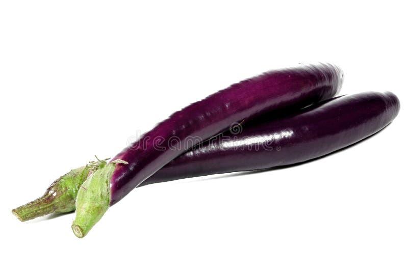 Japońscy aubergines zdjęcia stock