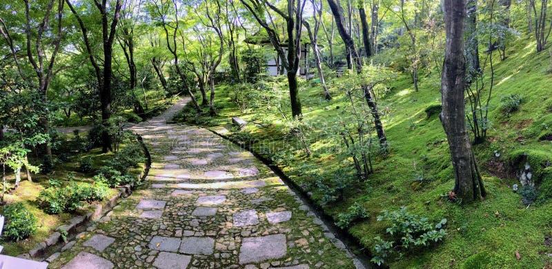 Japońska ścieżka ogrodowa obrazy stock