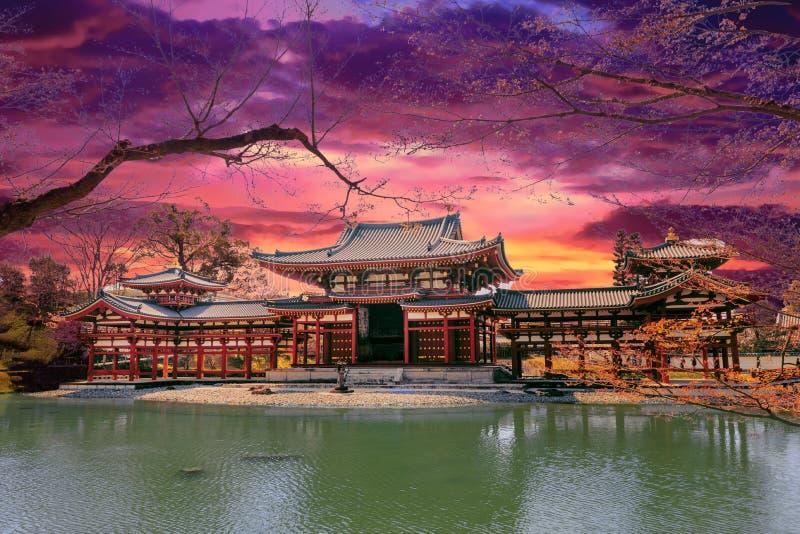 Japońska feniks świątynia zdjęcia stock