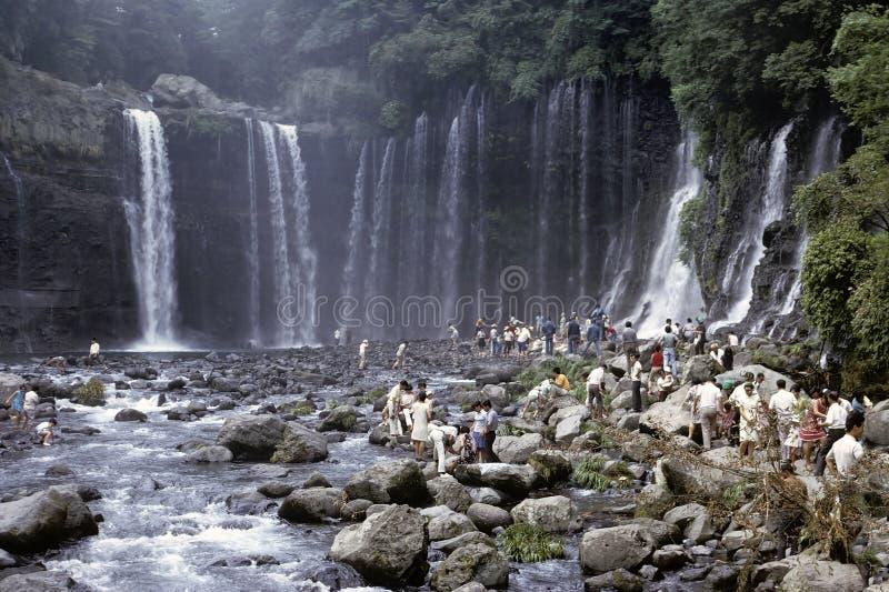 japońska siklawa obraz royalty free