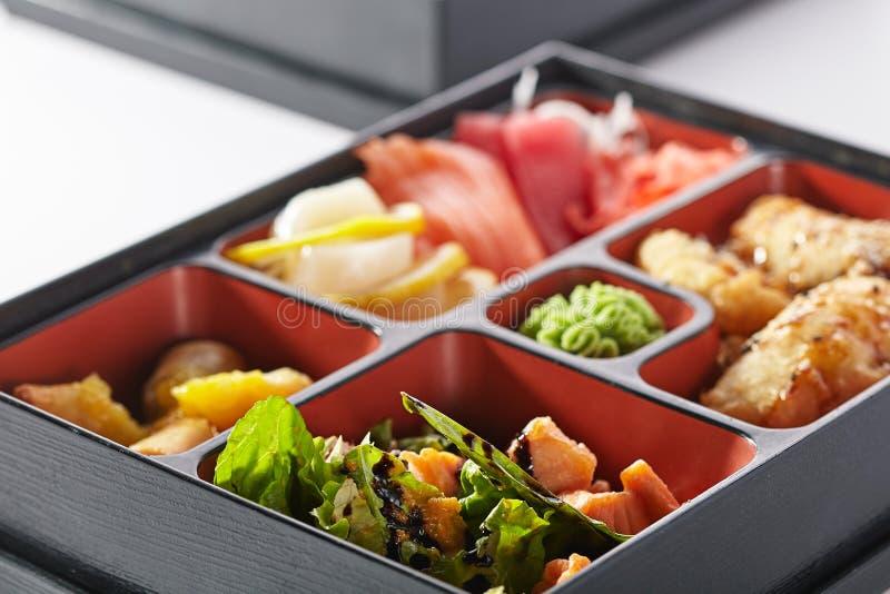 japoński bento lunch obraz royalty free