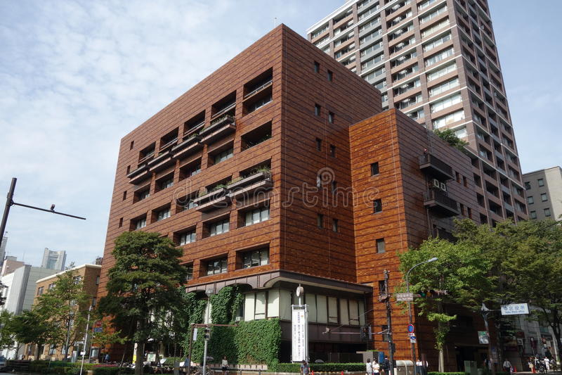 Japoński budynek fotografia royalty free