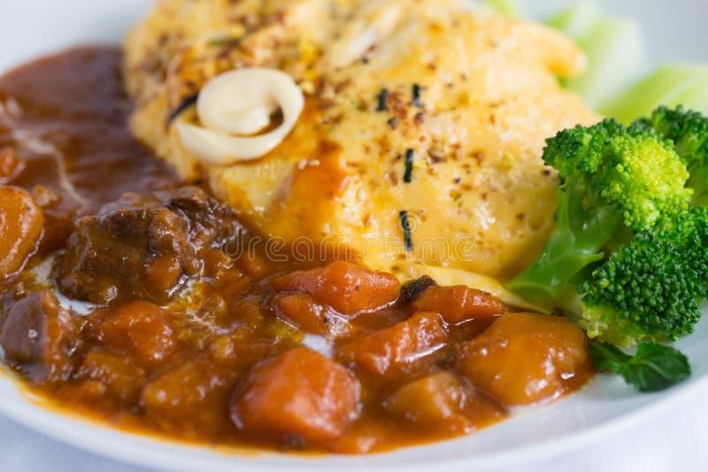 Japoński curry zdjęcie royalty free
