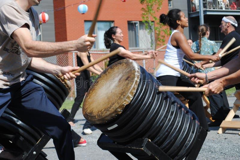 Japoński festiwalu matsuri zdjęcie royalty free
