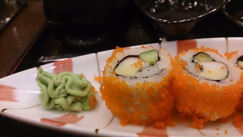 Japoński jedzenie - suszi zdjęcie stock