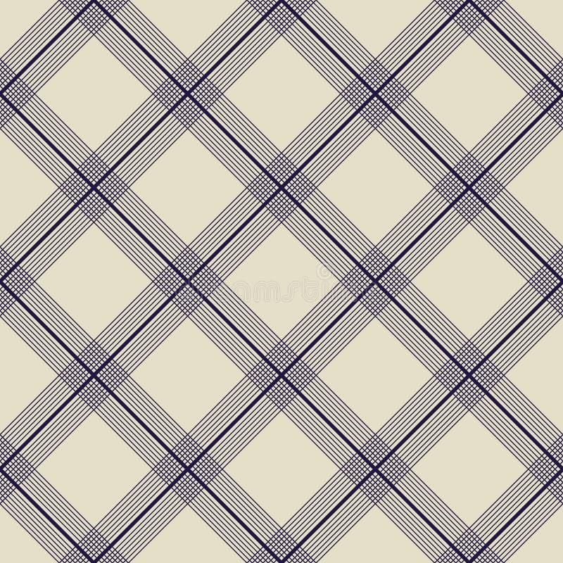 Japoński kimono wzór ilustracyjny bezszwowy wektor checkered ilustracji